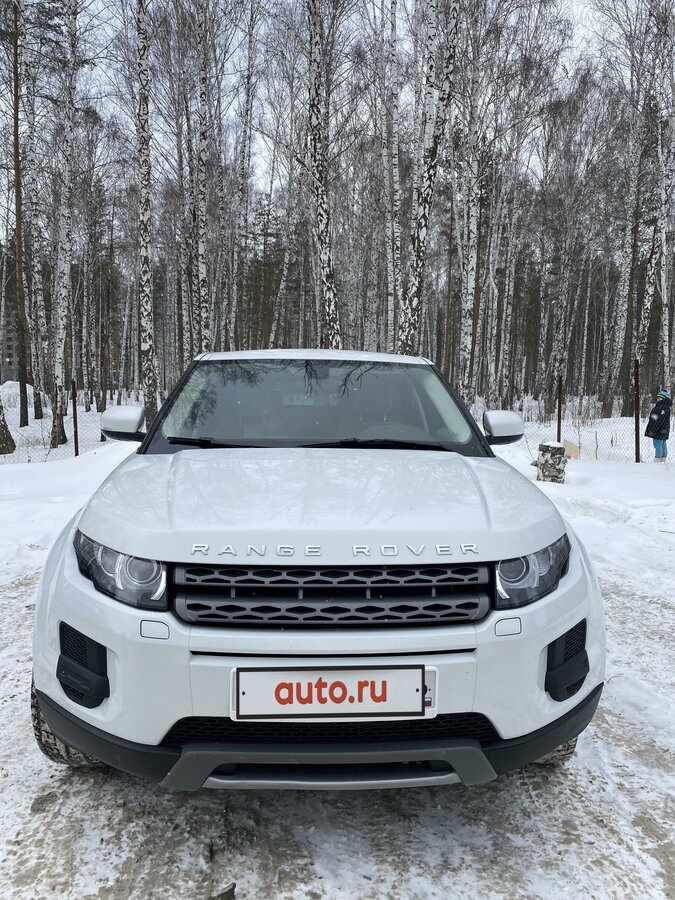 2012 Land Rover Range Rover Evoque  I 6-speed, белый - вид 2