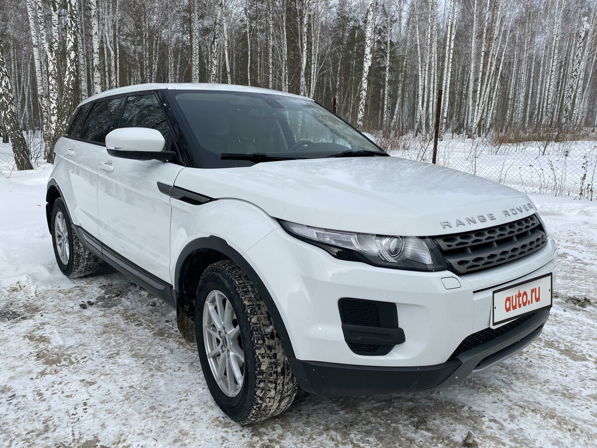 2012 Land Rover Range Rover Evoque  I 6-speed, белый - вид 5